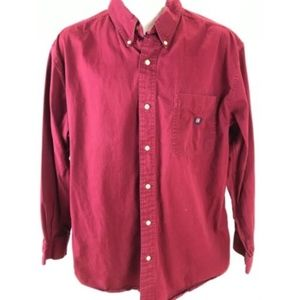 Chaps Ralph Lauren Long Sleeve Shirt Button Up L
